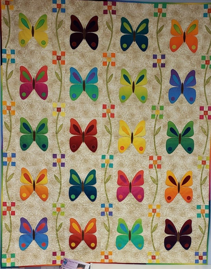 go butterfly patch