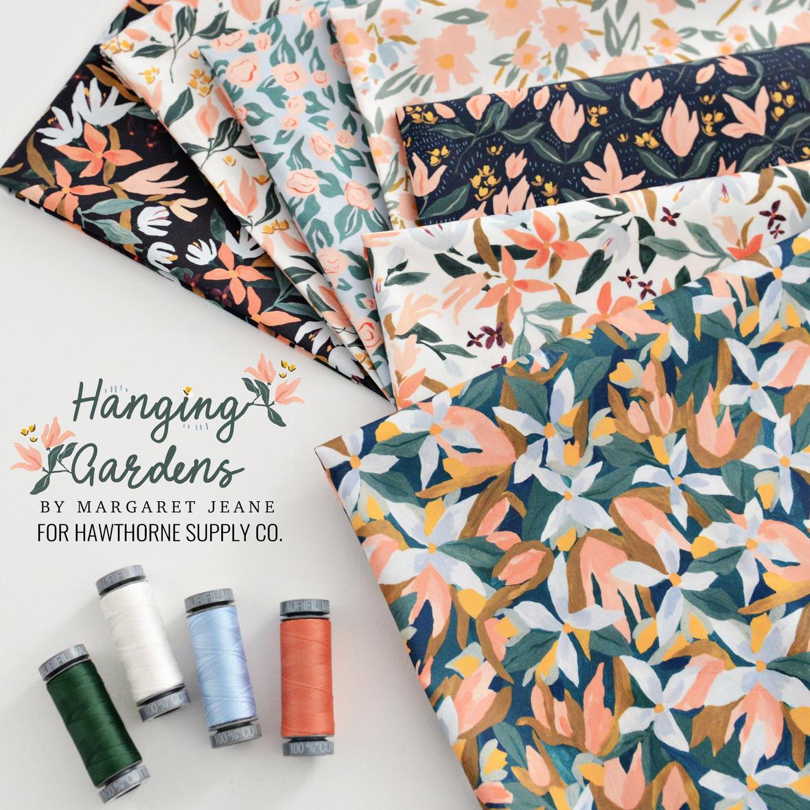 Hanging Gardens Fabric Poster
