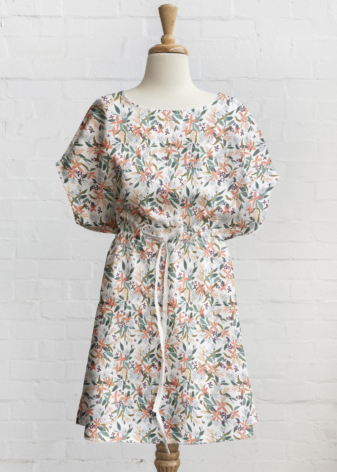 tie dress clematis hanging gardens in summer blossom 2