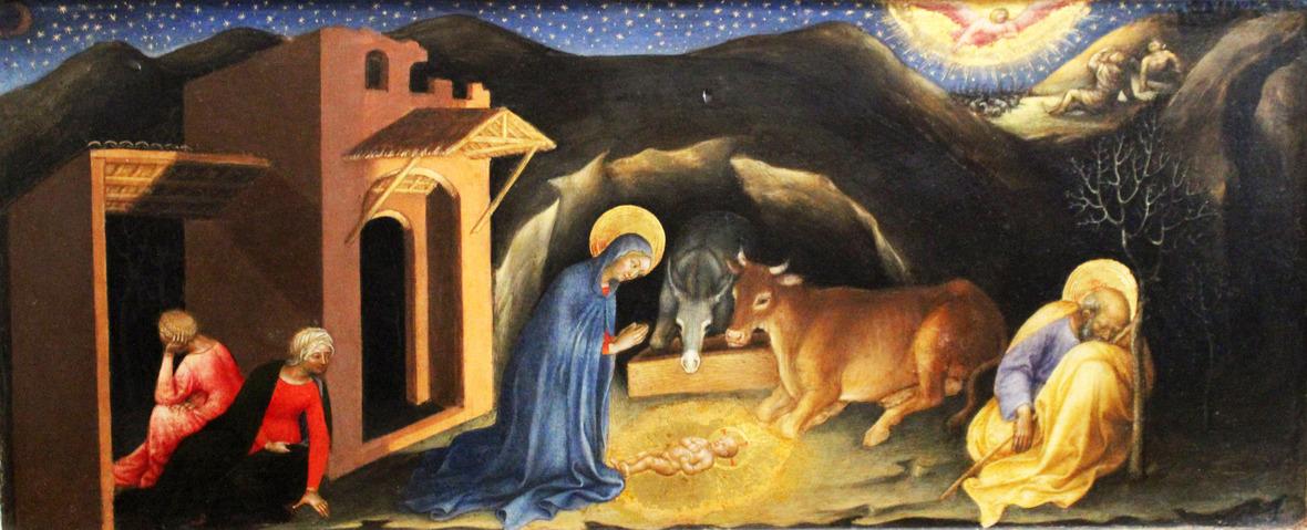Gentile da Fabriano - Nativity - WGA08543