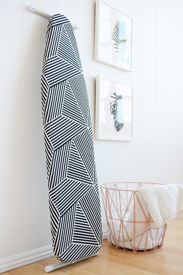 EHOW- DIY IRONING BOARD COVER BY JERAN MCCONNEL