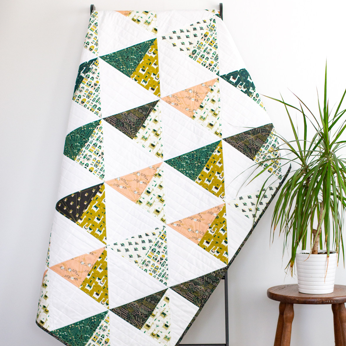 free quilt pattern - cloud 9 - mt fuji quilt