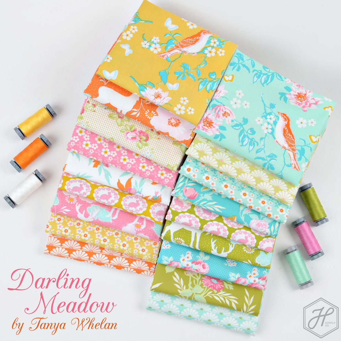Darling Meadow Fabric Poster