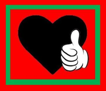 Thumbs Up on red green red FINAL