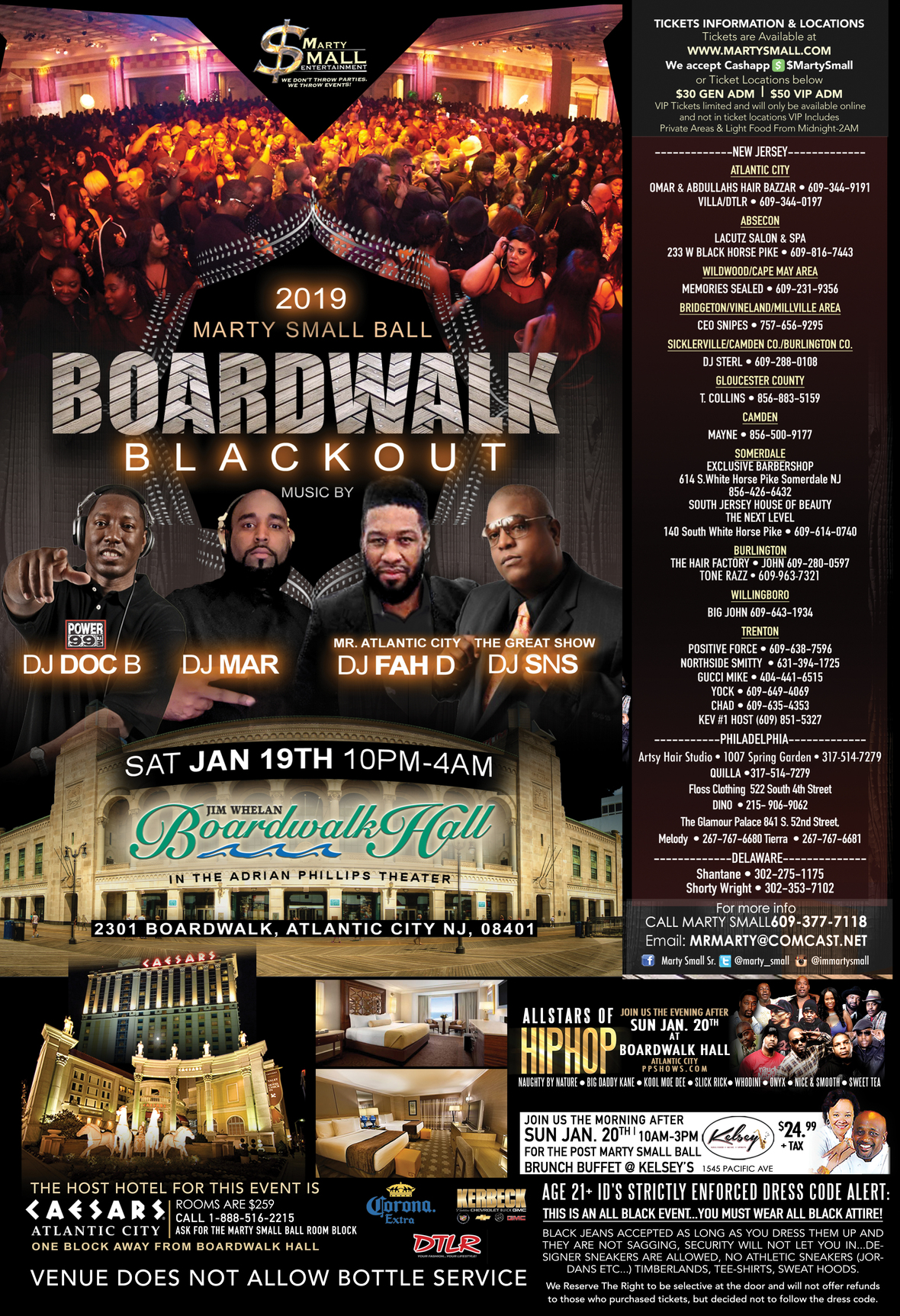 Boardwalk Blackout poster