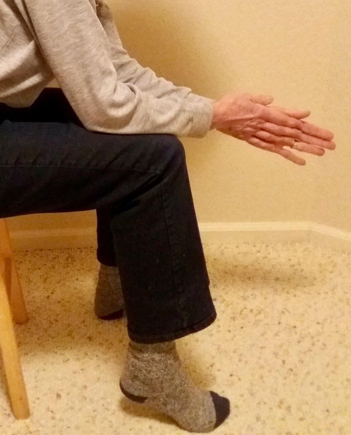 Elbows to Knees