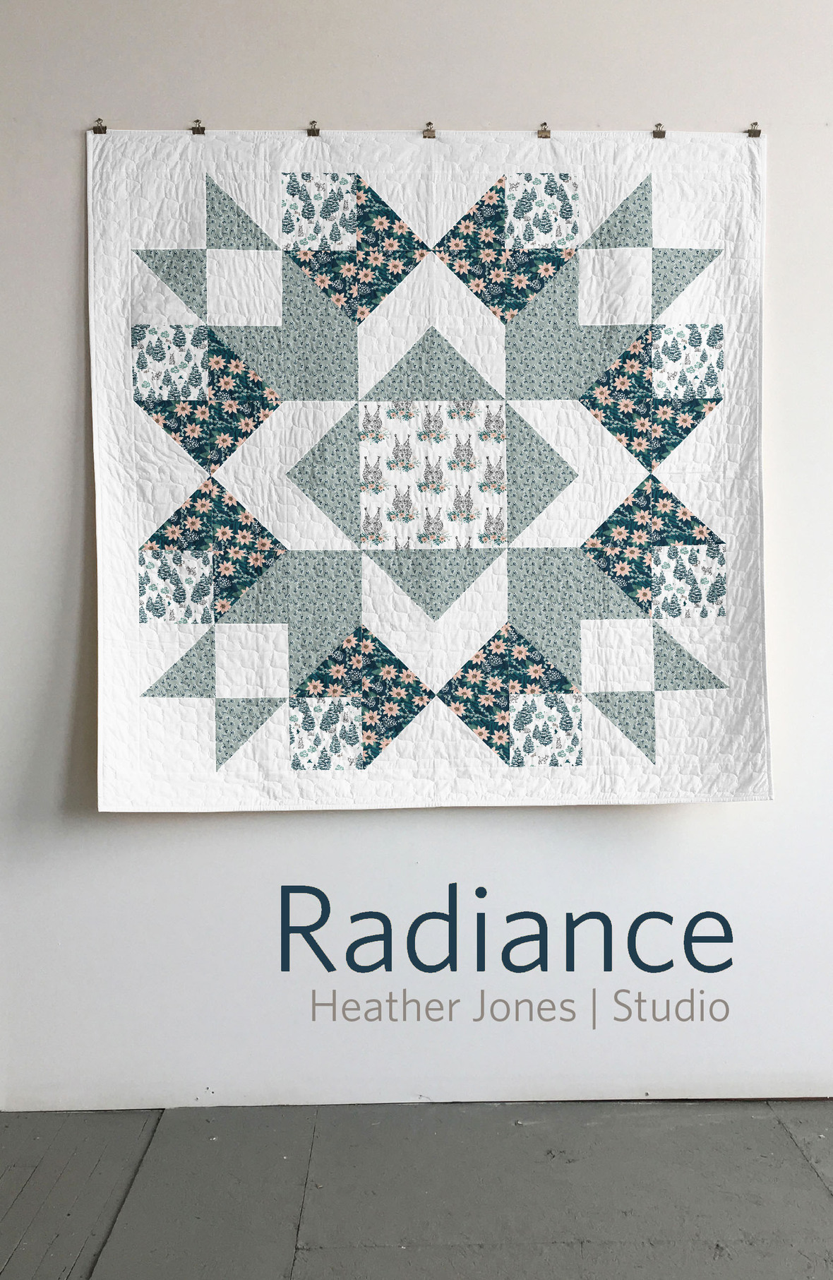 heather jones radience quilt
