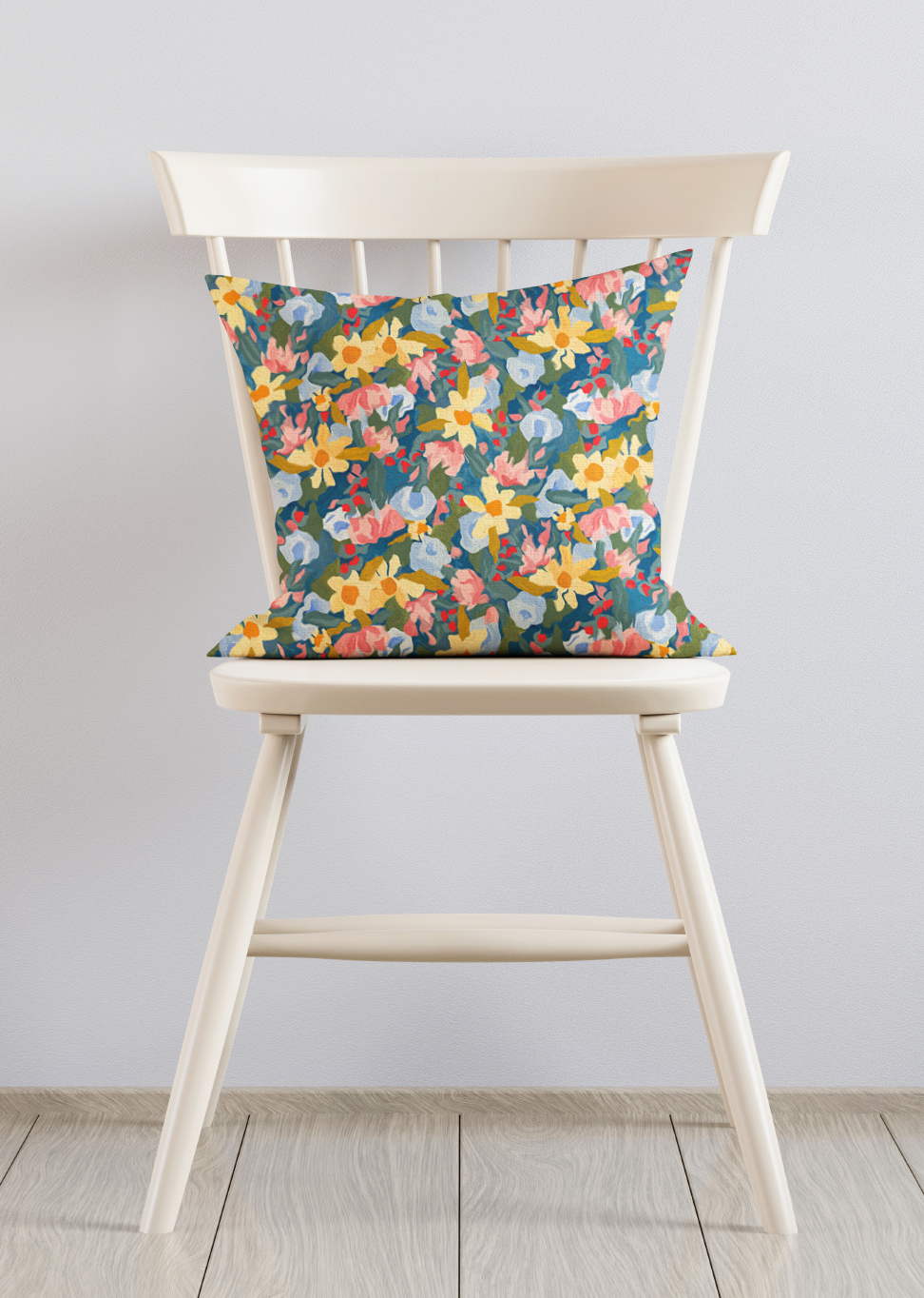 Pillow Chair Blooming Garden 1
