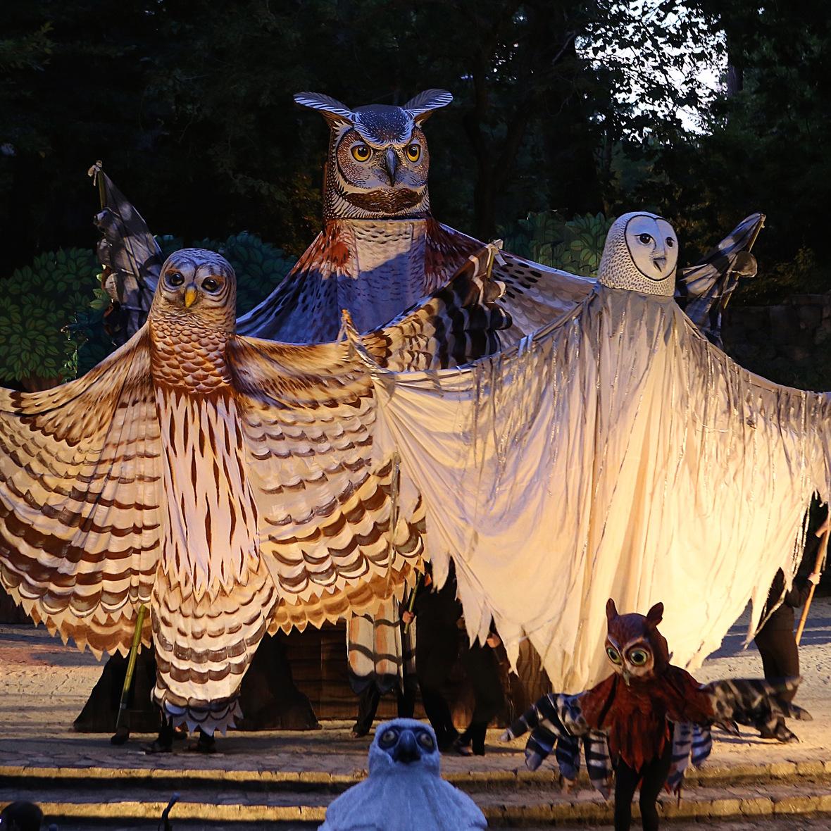 Paperhand puppet - courtesy Winston-Salem Symphony