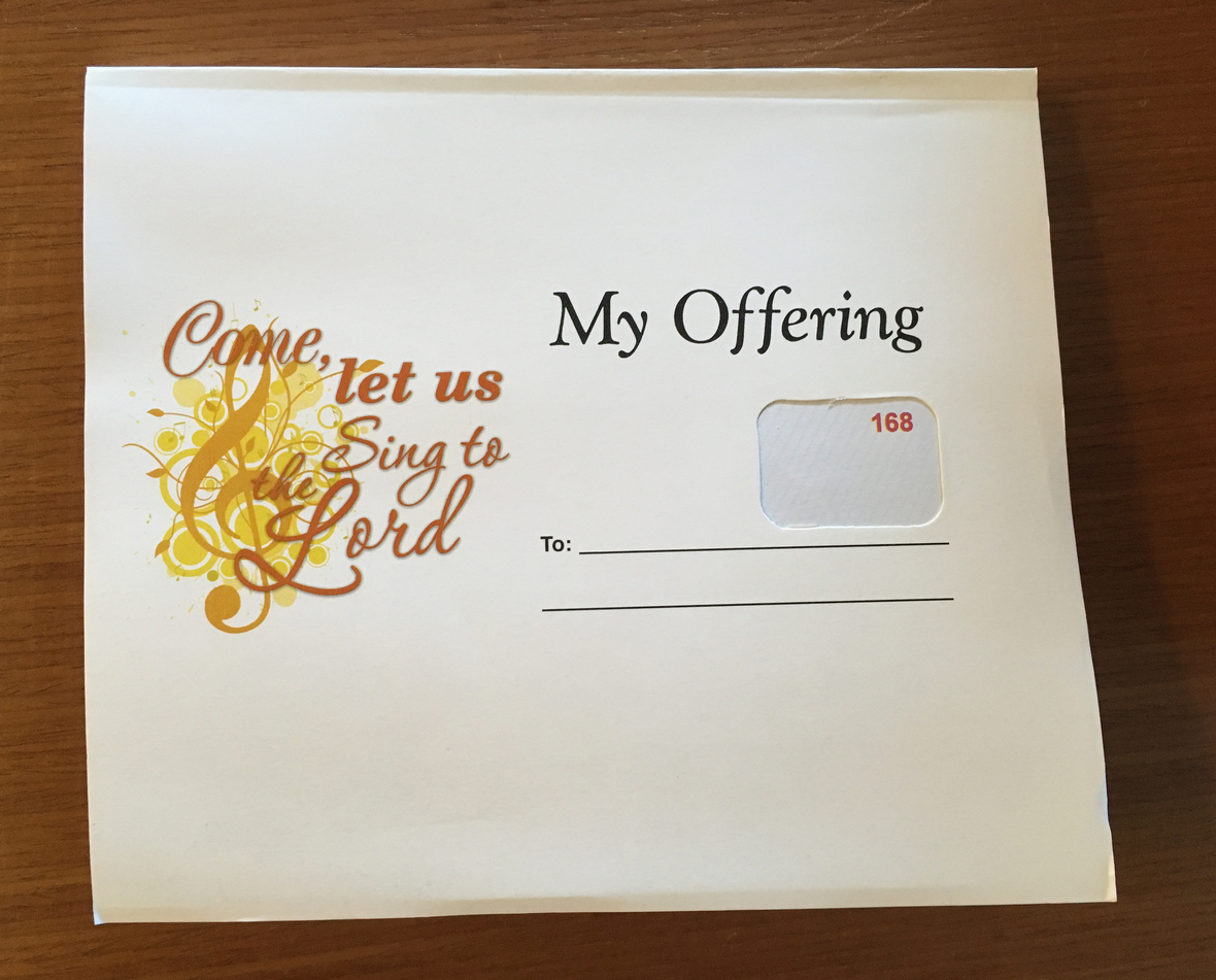 offering envelopes 2019