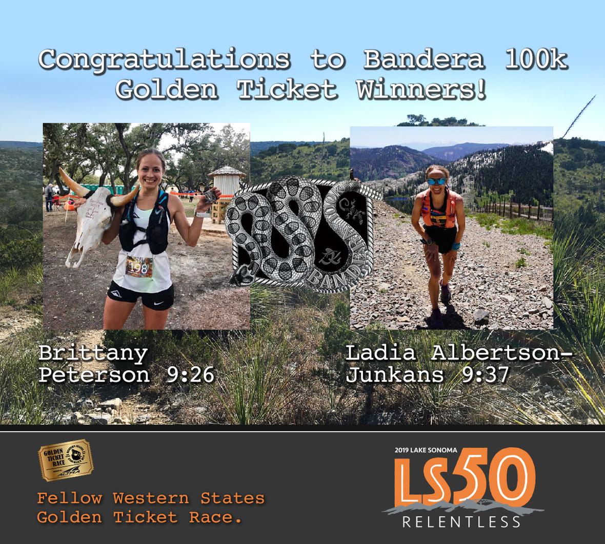 LS50 bandera winners woman