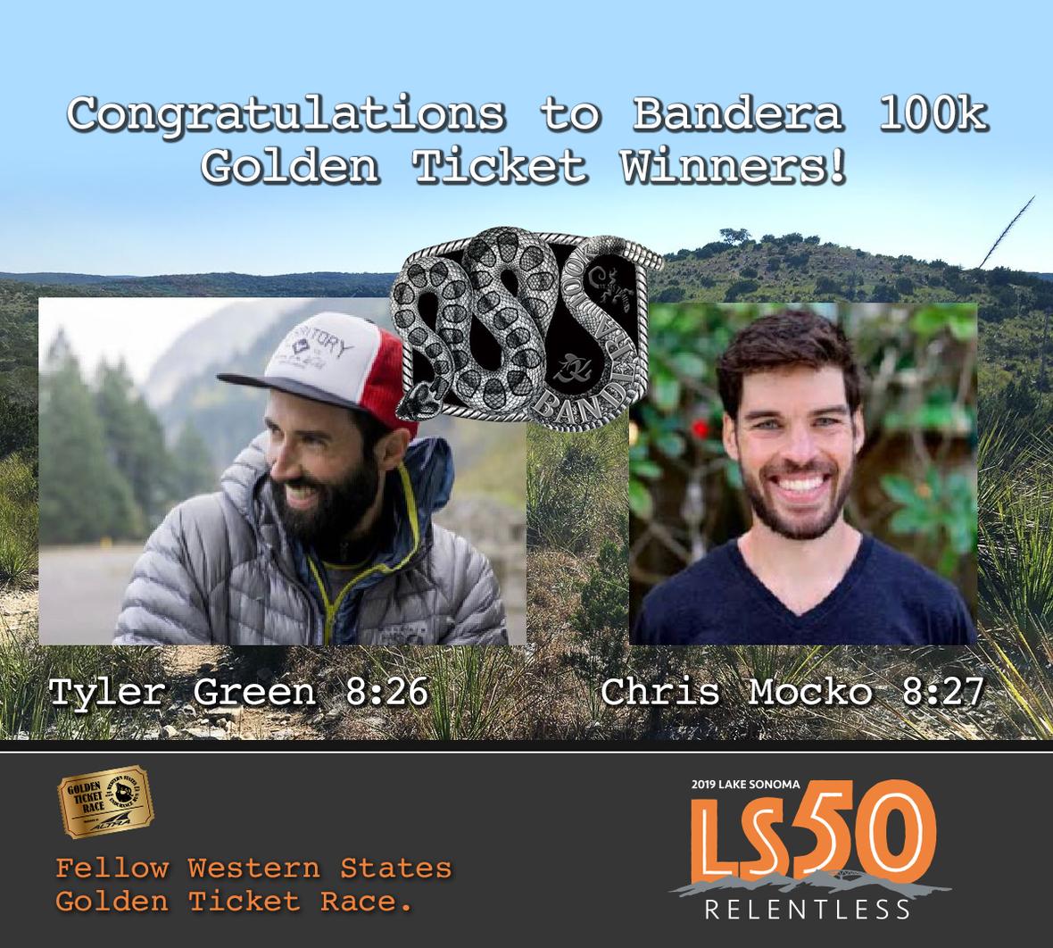 LS50 bandera winners men