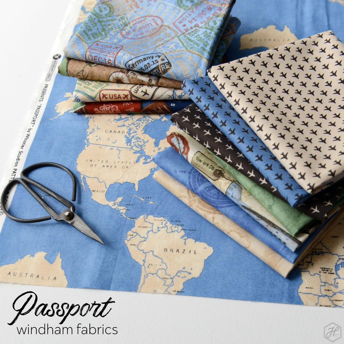 Passport Fabric Collection Poster