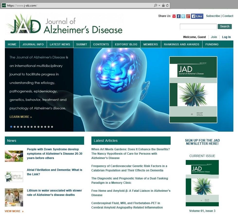 JAD-homepage