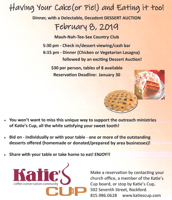Katie s Cup auction