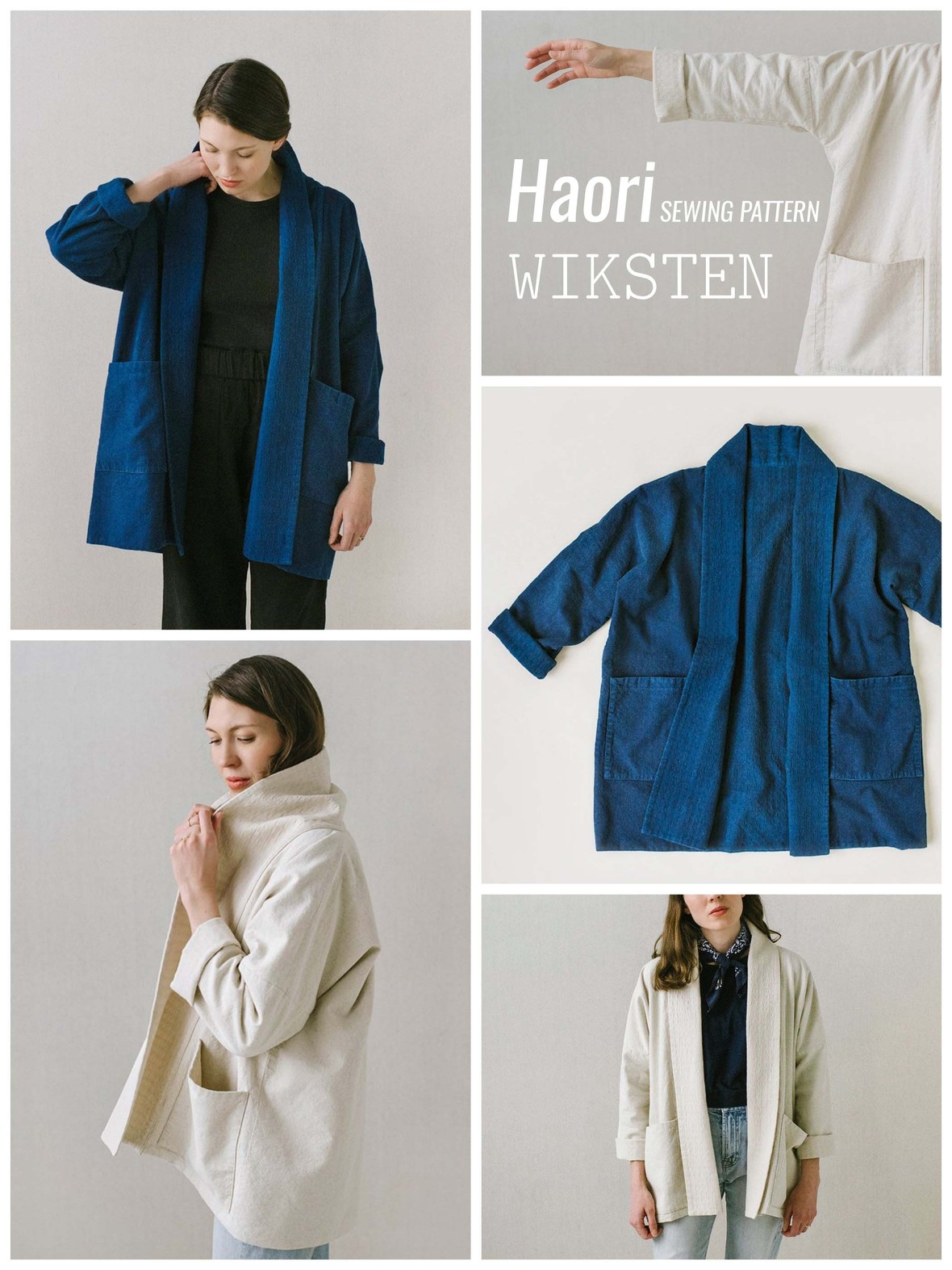 Wiksten Haori Pattern at Hawthorne