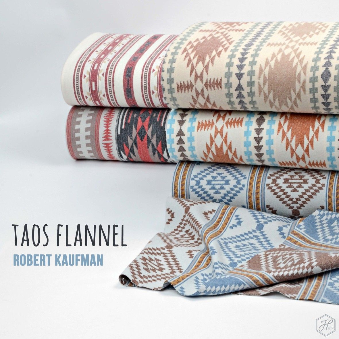 Taos Flannel from Robert Kaufman at Hawthorne Supply Co