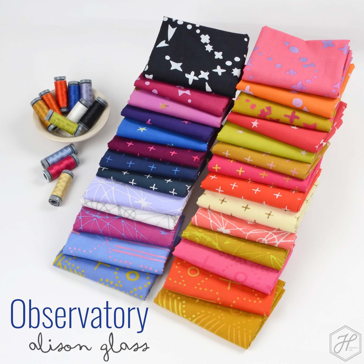 Obervatory Fabric Poster