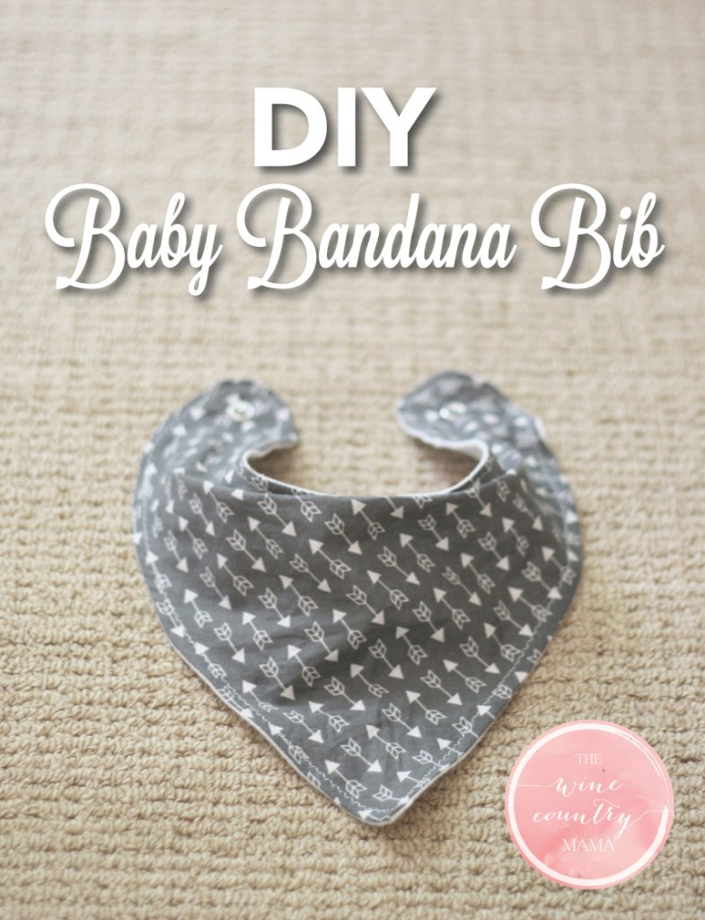 the wine country mama- diy-baby-bandana-bib