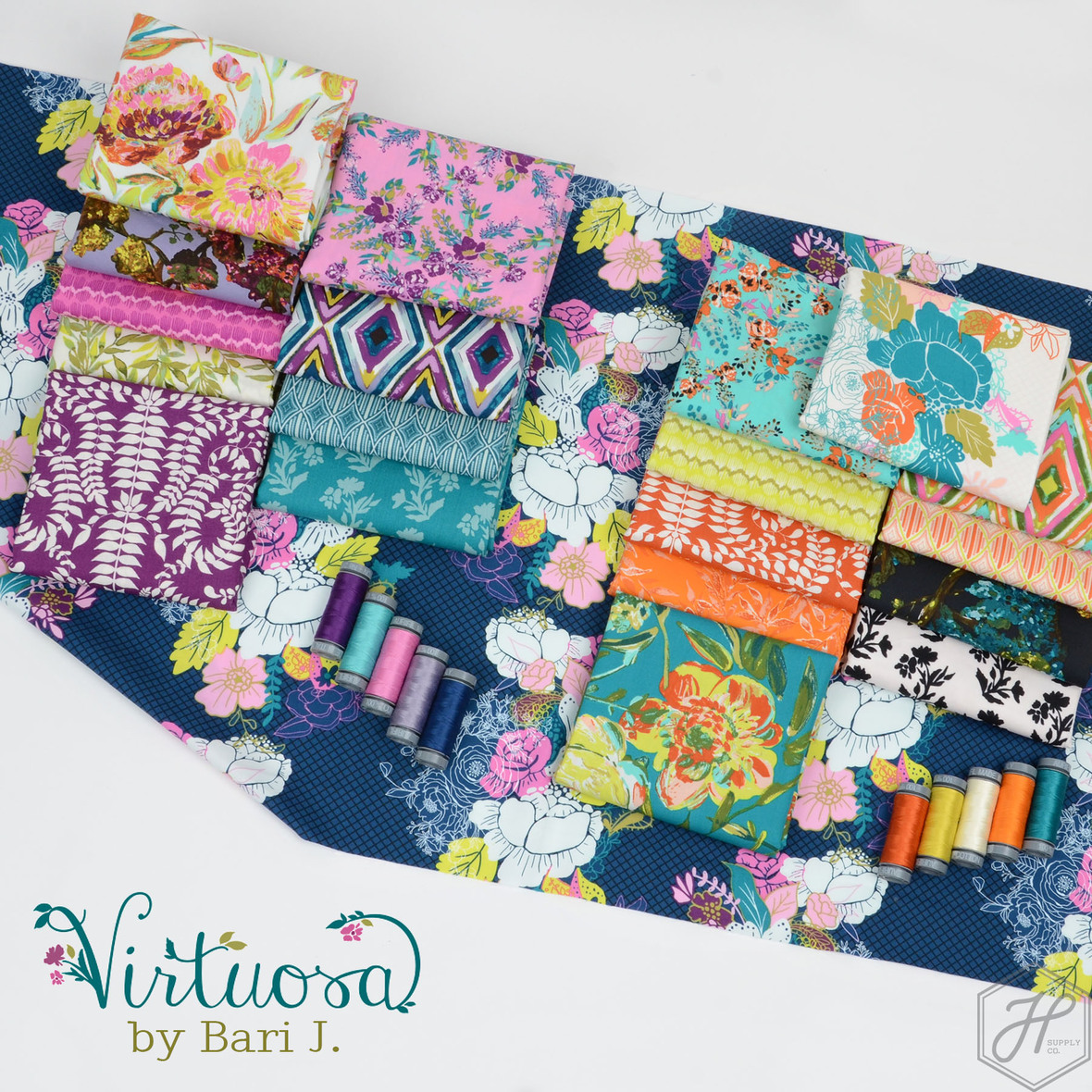 Virtuosa fabric poster