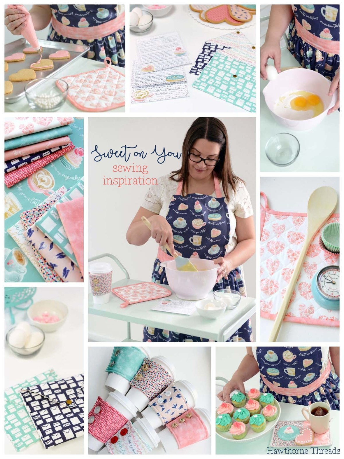 Sweet On You Fabric Sewing Inspiration c