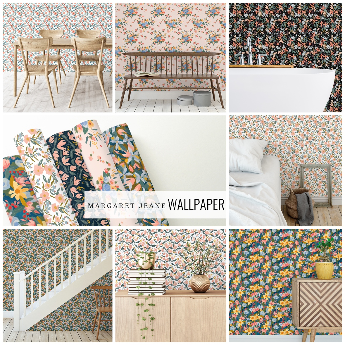 Margaret Jeane Wallpaper at Hawthorne Supply Co