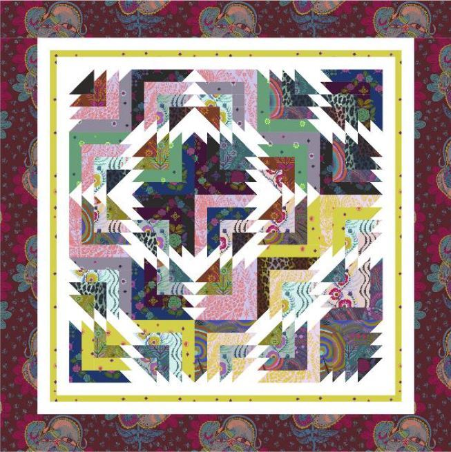 FS-sonata quilt - pattern available from cozyquiltdesigns