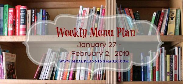Weekly Menu Plan-basic image-jan 27 - 2019