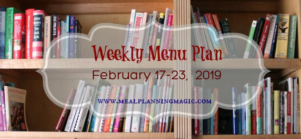 Weekly Menu Plan-basic image-feb 17 - 2019