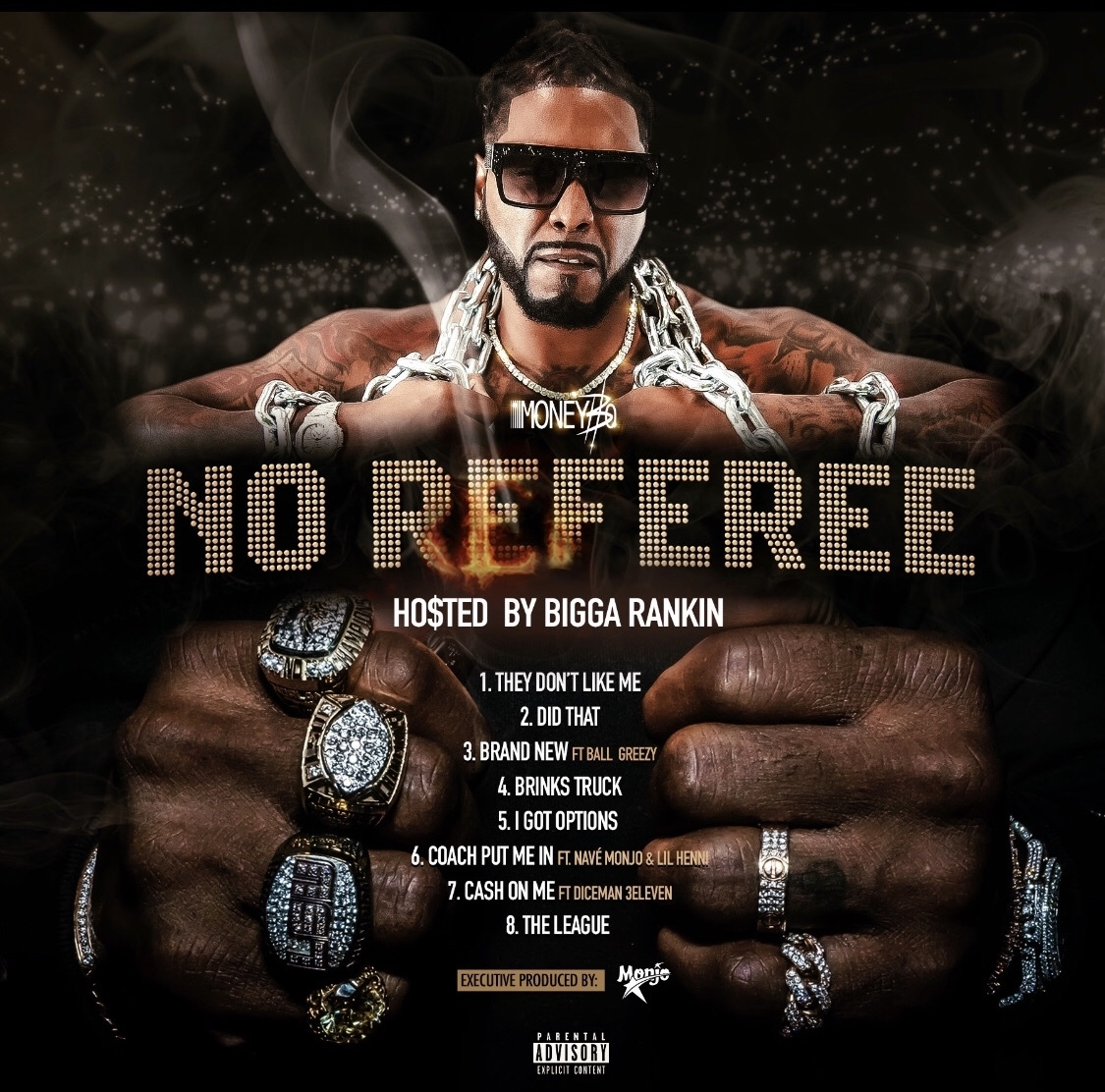 Money Bo - No Referee back artwork