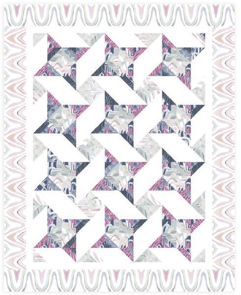 dazzle quilt- available for purchase through cozyquiltdesigns