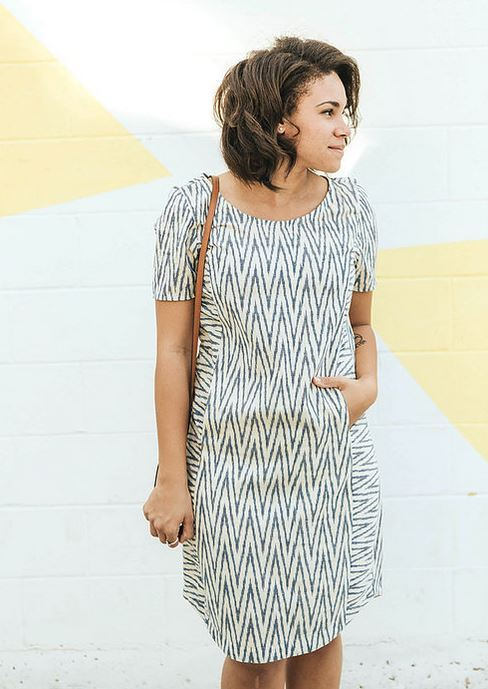 sew to grow- fremantle frock