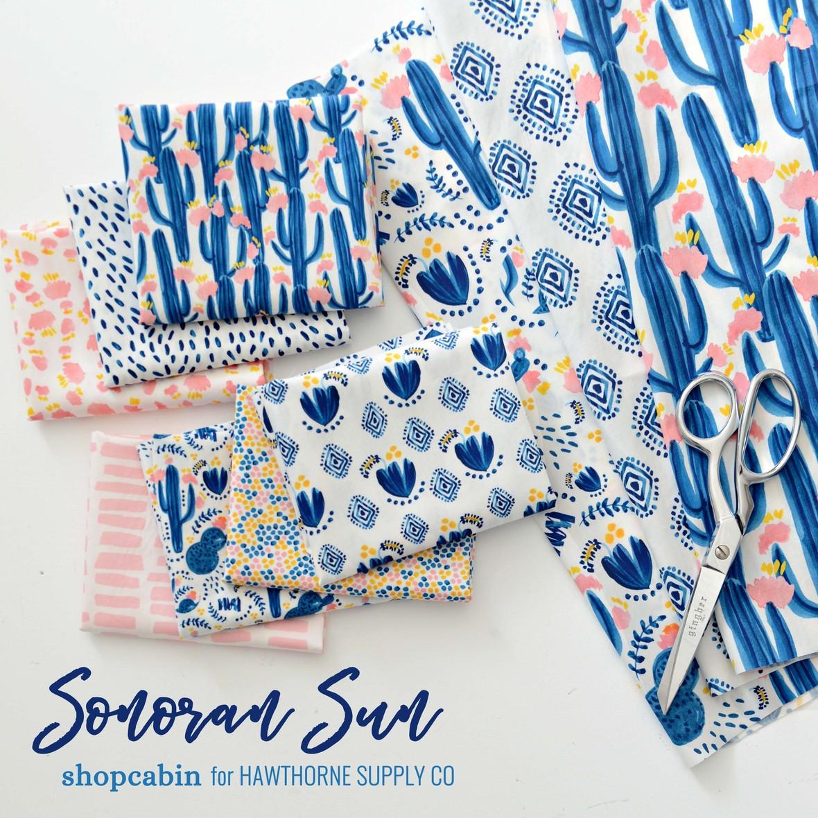 Sonoran Sun Fabric Poster Shopcabin for Hawthorne Supply Co