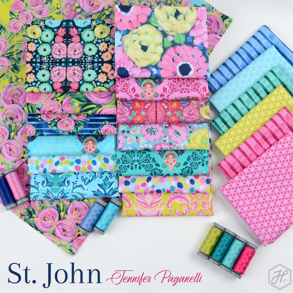 St John Fabric Jennifer Paganelli at Hawthorne Supply Co