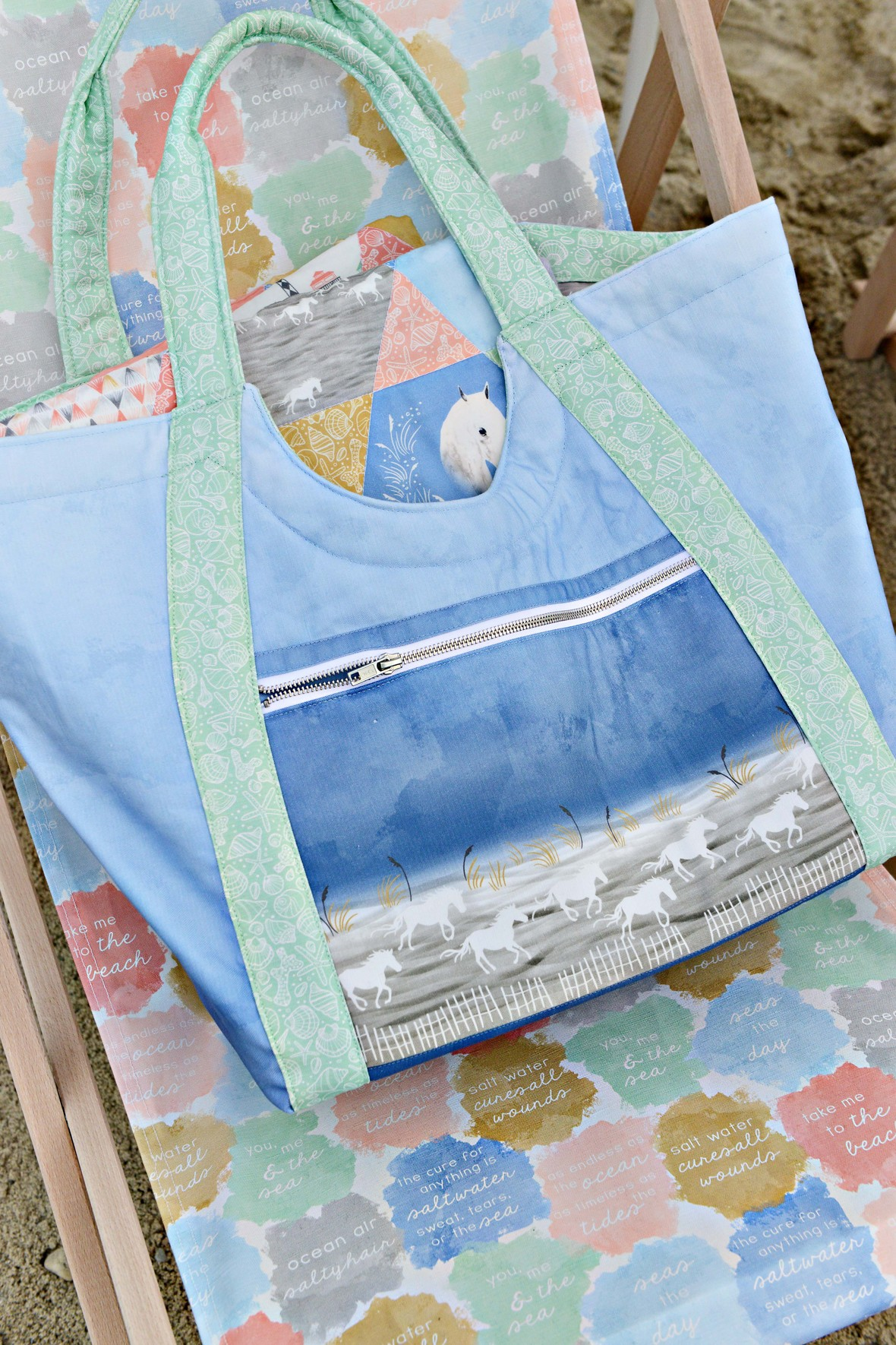 Poolside Tote Outer Banks 2