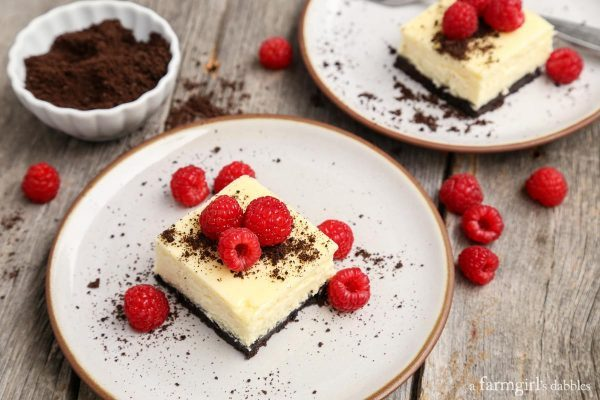 Black-and-white-cheesecake-bars AFarmgirlsDabbles AFD-5-600x400