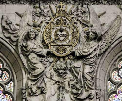 Reloj del Corazon de Jesus 01 01