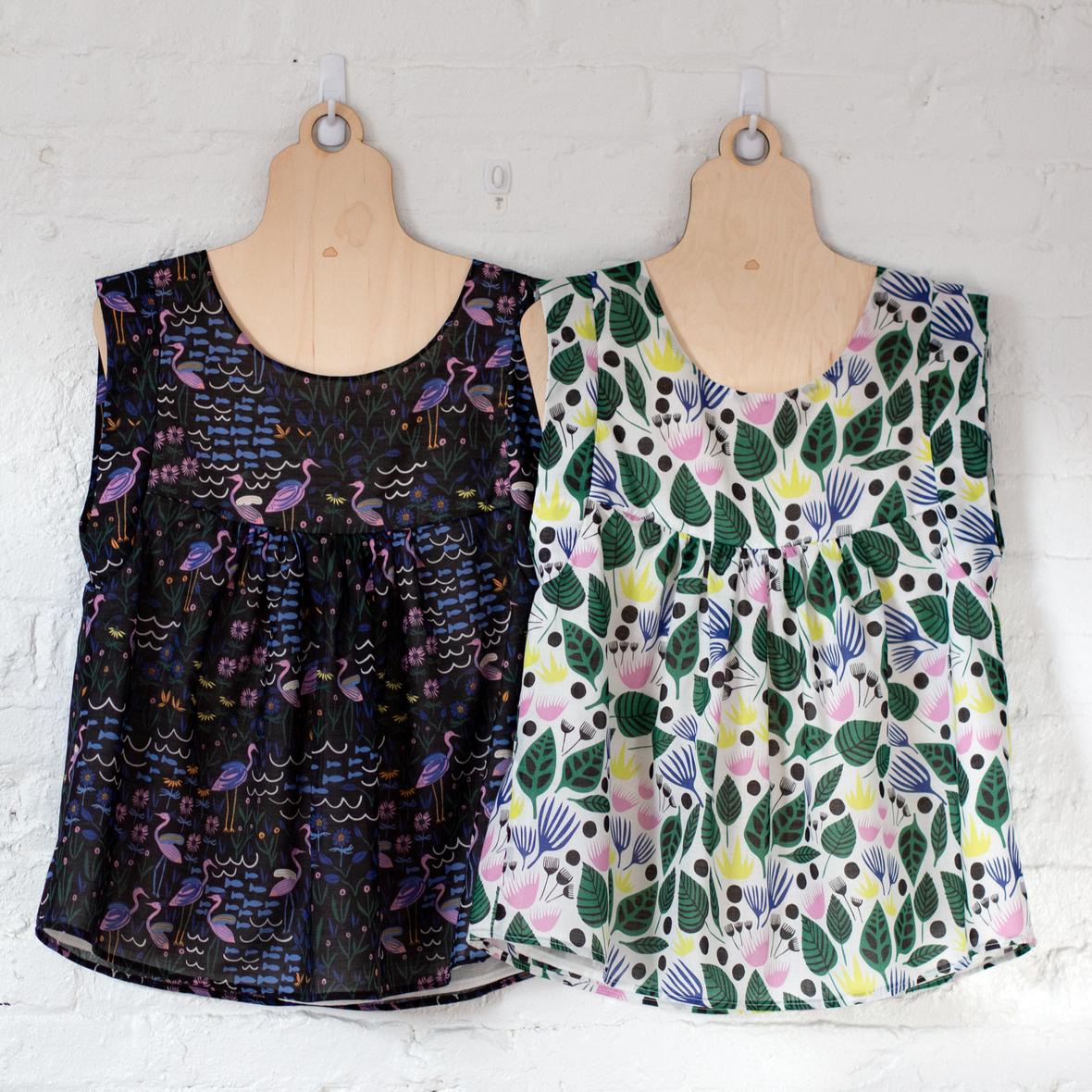 cloud 9 website- wild-alice-tops- pattern by tessuti fabrics