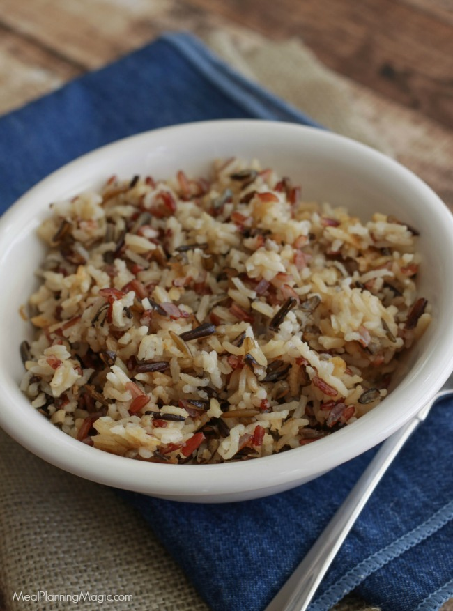 wild rice pilaf-top view-resized