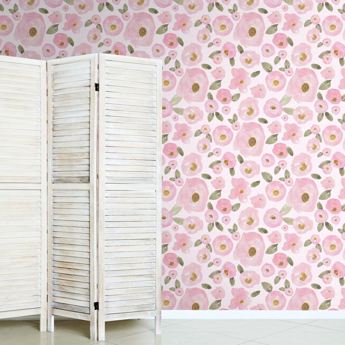 Jovial Blooms in Lotus Pink