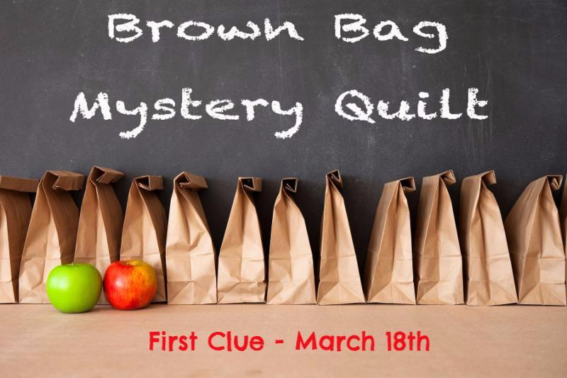 Brown Bag Mystery Quilt