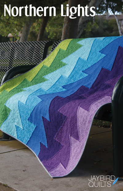 jaybird quilts  northern lights sewing pattern
