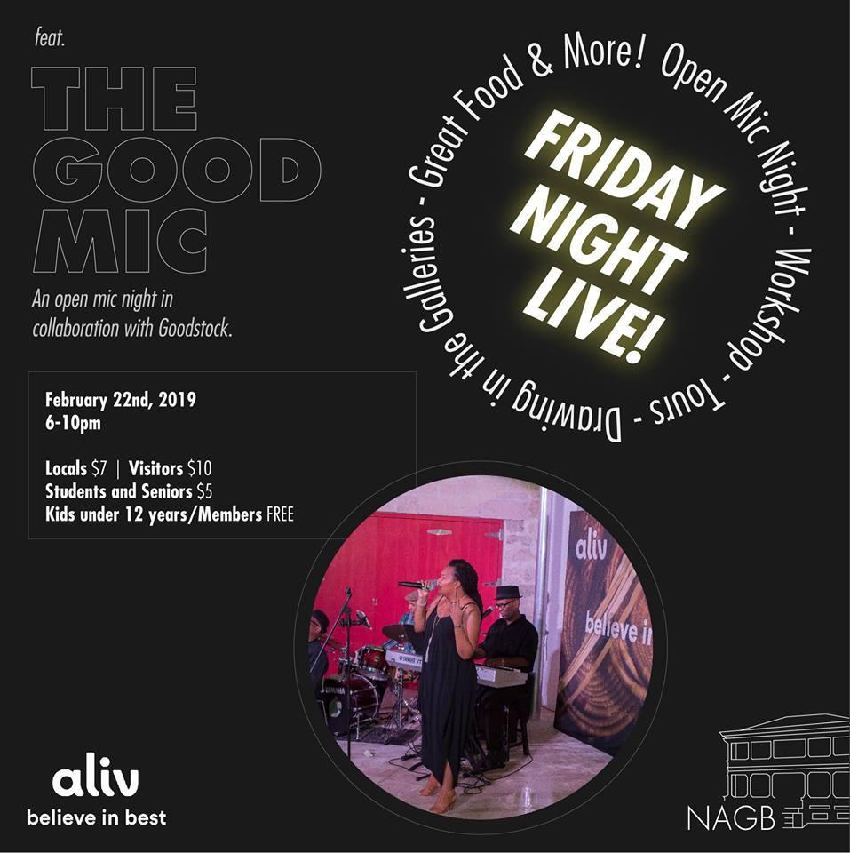 NAGB Friday Night Feb 22