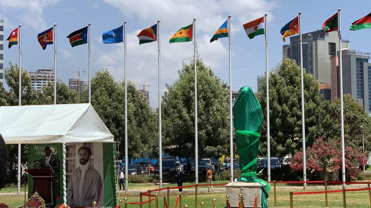 Madaxweyne Farmaajo oo ka qayb galay shirka EU ee Addis Photo Ali Dualle-14