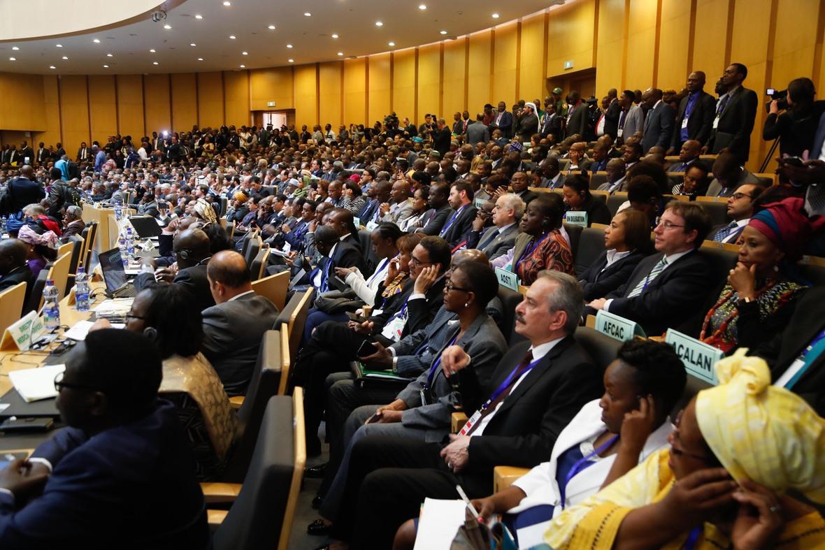 Madaxweyne Farmaajo oo ka qayb galay shirka EU ee Addis Photo Ali Dualle-2
