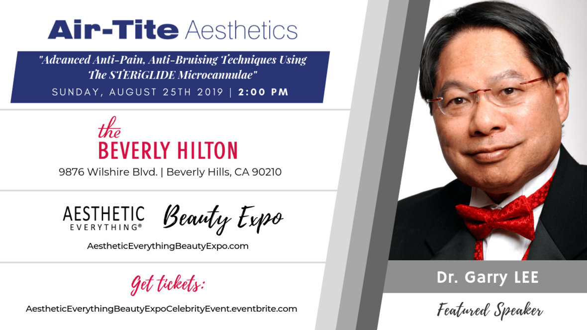 Dr. Garry Lee - Air-Tite Aesthetics Speaker