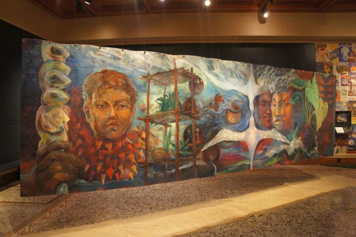 Hawaiian mural