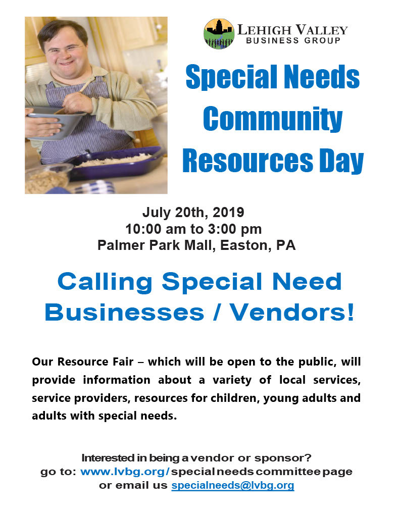 Special Needs Community Resources Day Vendor Flyer1024 1