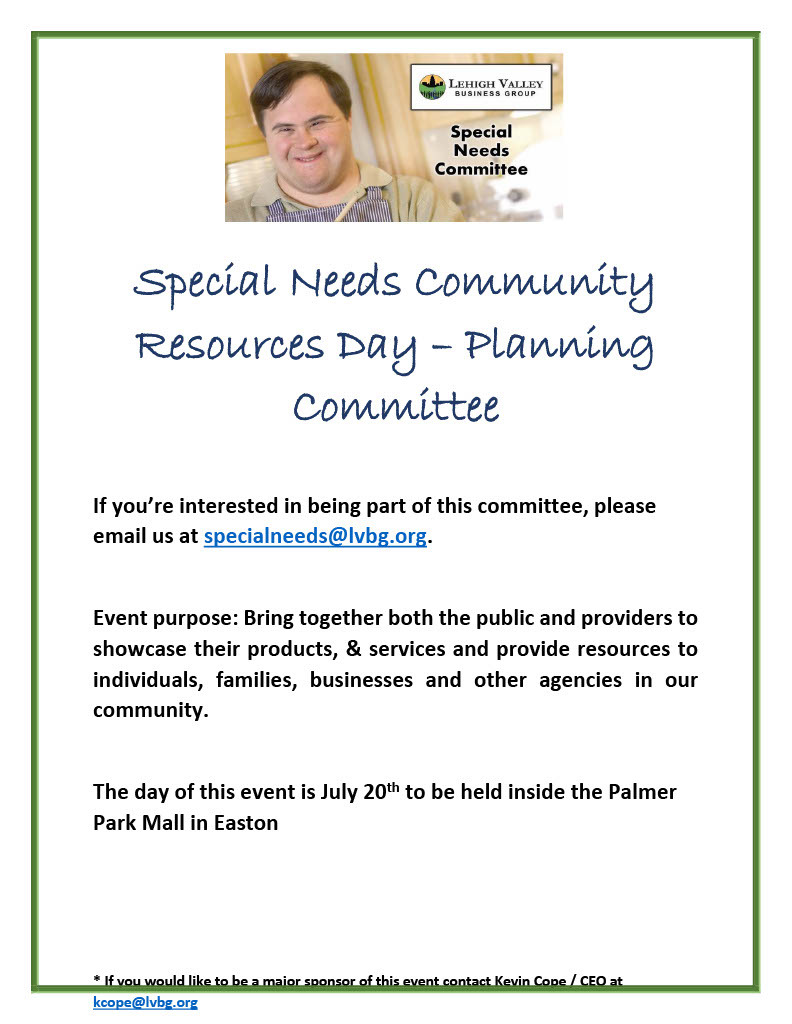 Special Needs Community Resources Day - Planning Committee1024 1