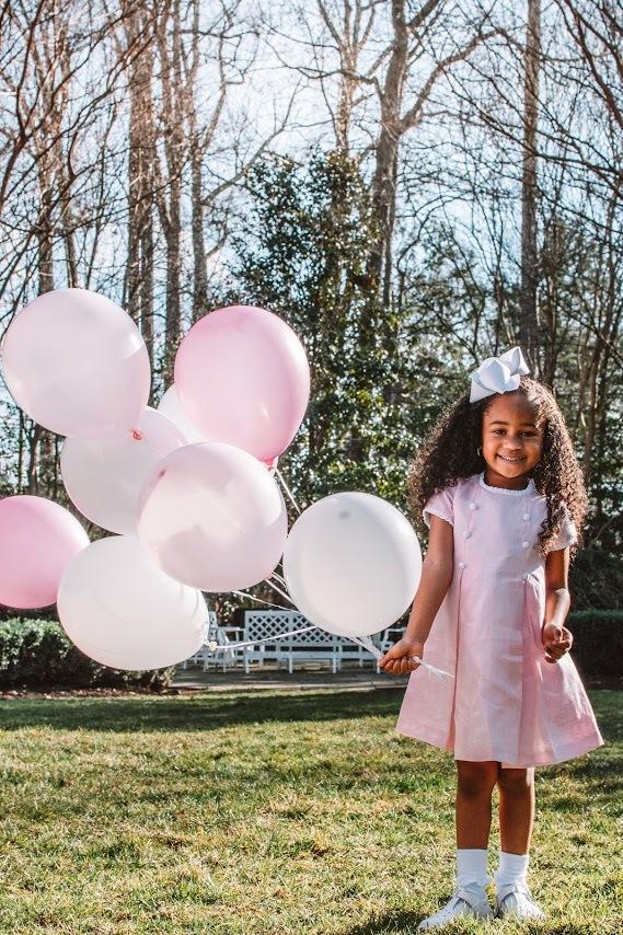 Pink Dress Balloons